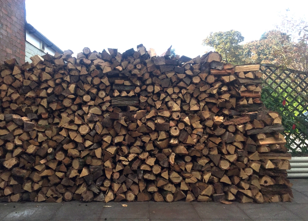hand-stacked-logs